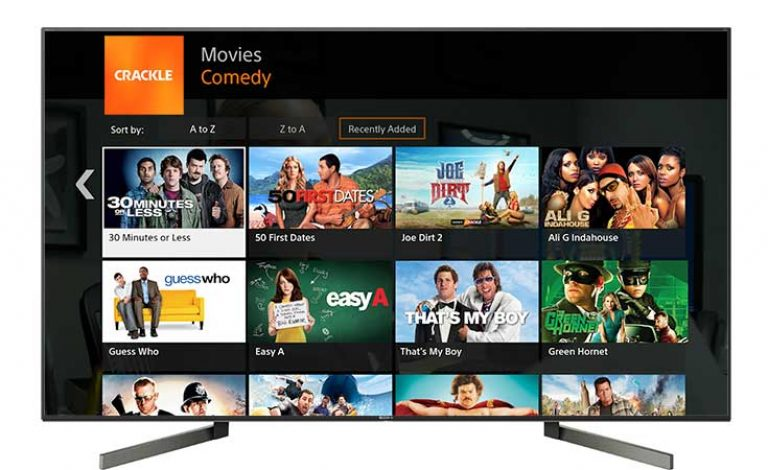 Sony Crackle for Android TV